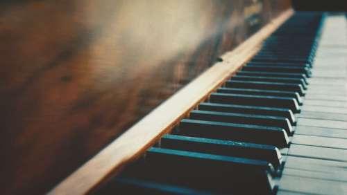Piano Antique Instrument Music Vintage Keys