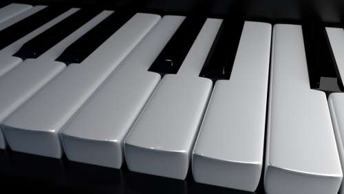 Piano Keys Keys Piano Music Musical Instrument