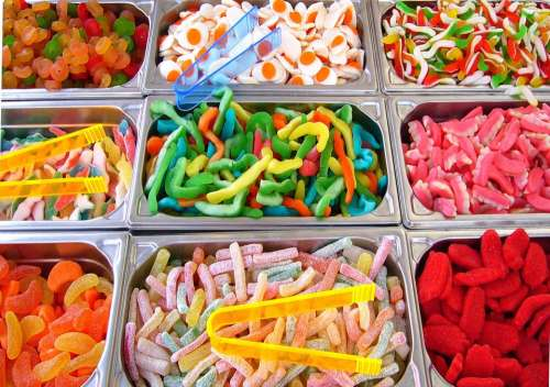 Pick And Mix Children'S Sweets Candy Colorful Treat