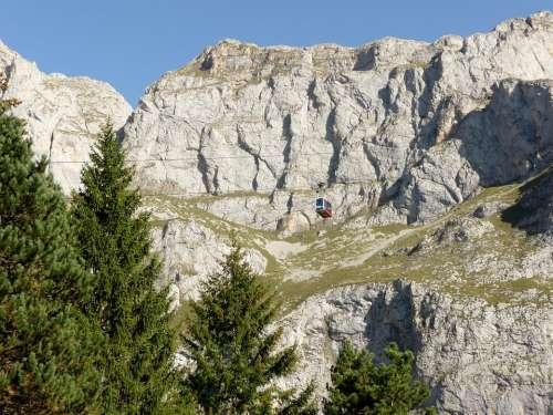 Picos De Europa Mountains Fuente De Cable Car Rides