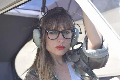 Pilot Aircraft Female