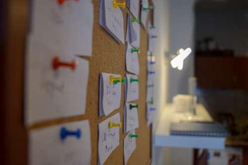 Pins Pinboard Team Tasks Process