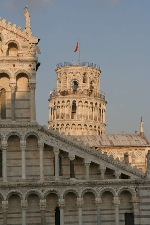 Pisa Tuscany Italy The Cathedral Architecture