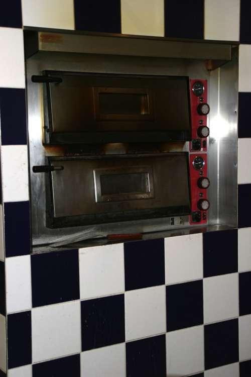 Pizza Oven Restaurant Tile Black And White Tiles