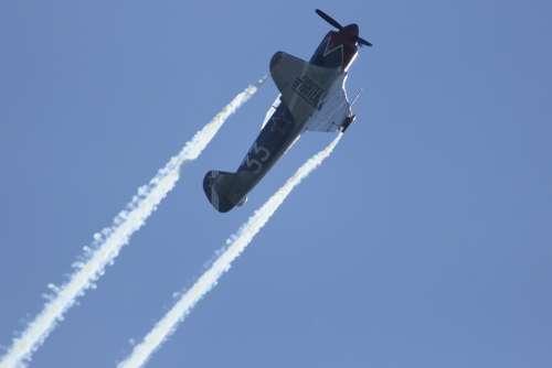Planes Aerobatics Flight Aviation Airshow