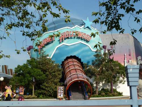 Planet Hollywood Disneyland Restaurant