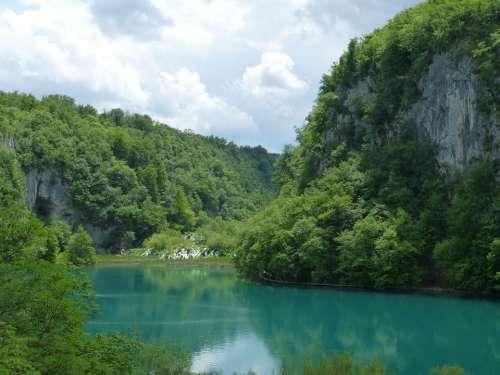Plitvice Croatia Nature Water
