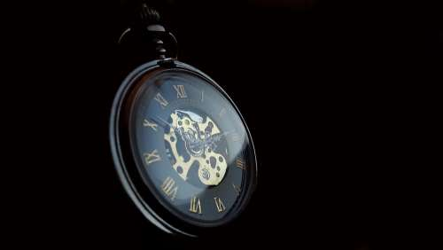 Pocket Watch Clock Time Old Nostalgia Pointer