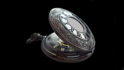 Pocket Watch Clock Time Old Nostalgia Antique