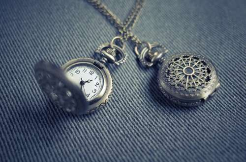 Pocket Watch Locket Watch Timepiece Time Clock