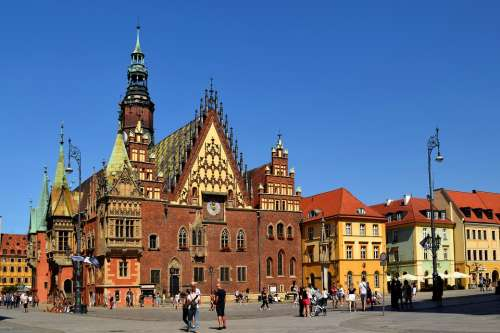 Poland Wroclaw Architecture Building Europe