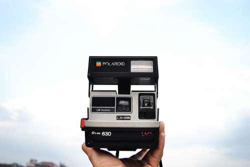 Polaroid Camera Instant Photography Film Old