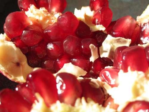 Pomegranate Seeds Red Fresh Organic Health