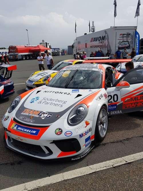 Porsche Racing Car Carrera Car Racing Sports Car
