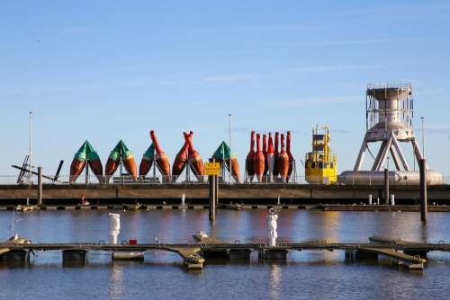 Port Buoys Industry Cuxhaven