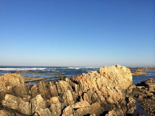 Portugal Viana Do Castello Atlantic Rock
