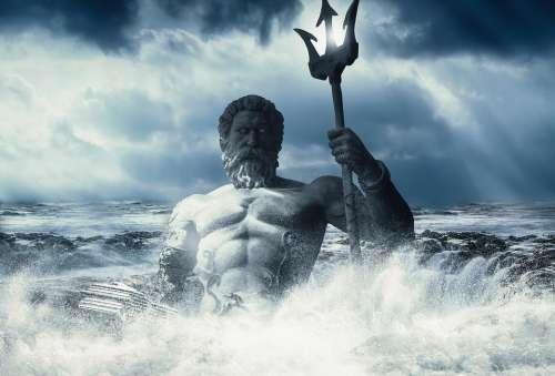 Poseidon Sea Wallpaper Art Imagination God Ocean