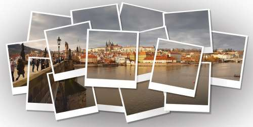 Prague Photo View Picture Collage Wallpaper