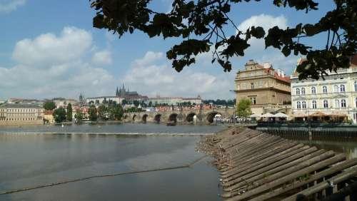 Prague Moldova Charles Bridge