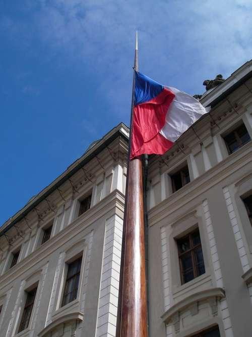 Prague Flag Czech Republic