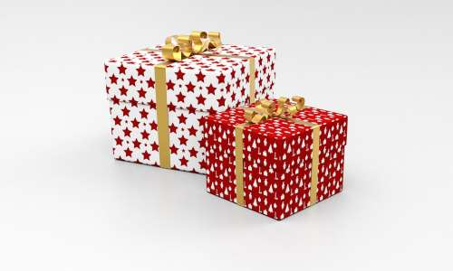Present Package Gift Celebration Christmas Box