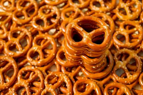 Pretzel Baked Goods Pretzels Crispy Salty