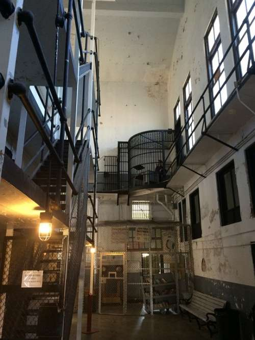 Prison Jail Cell Cell Block Crime Criminal