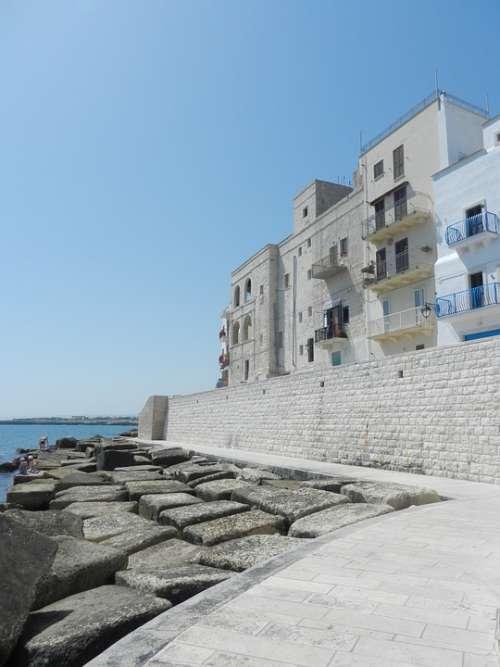 Puglia Sea Landscape Vacation