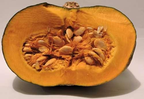 Pumpkin Half Seed Yellow Cut Uniform