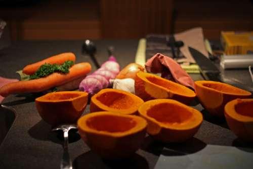 Pumpkin Hokaido Pumpkin Cook Vegetables October