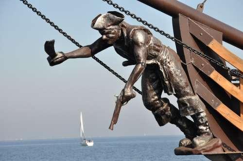 Puppet Ship Sea The Baltic Sea Holidays