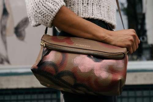 Purse Woman Pattern Leather Bag Fashion Handbag