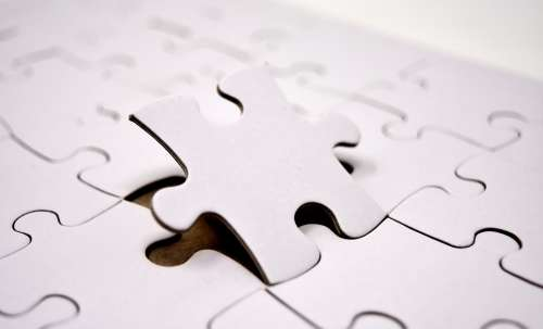 Puzzle Last Part Joining Together Insert Share
