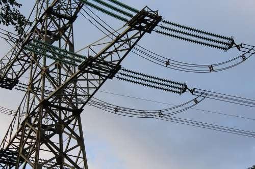 Pylon Electricity Energy Flow Stroommast