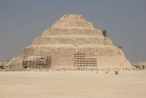Pyramids Egypt Pyramid Desert History Architecture