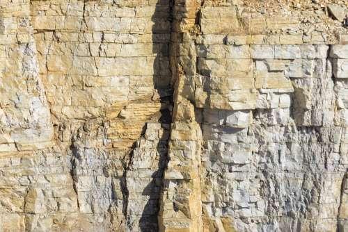 Quarry Rock Limestone Gravel Pit Sandpit Crash