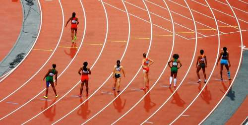 Race Track And Field Running Sport Sprint Olympics