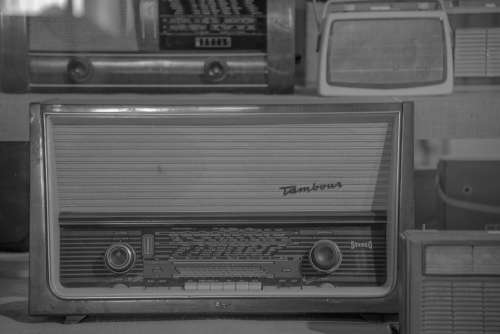 Radio Tube Radio Antique Old Speakers Retro