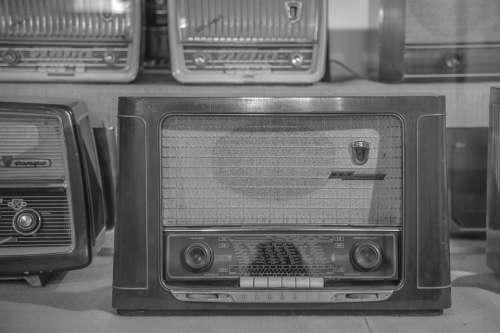 Radio Tube Radio Antique Old Speakers Retro