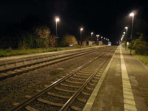 Rail Track Railway Train Railway Station Infinity