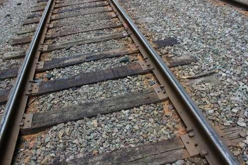 Railroad Track Railway Train Transportation