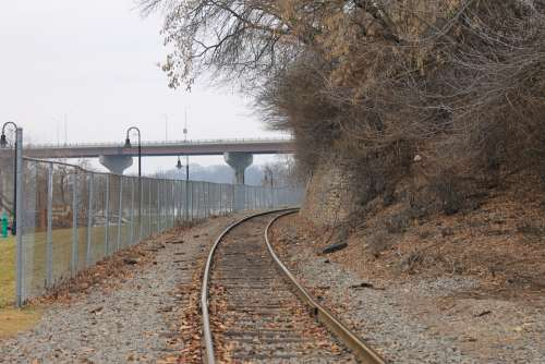 Railroad Urban Transportation Bridge