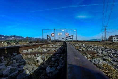 Rails Train Track Site Railway Line Railway Tracks
