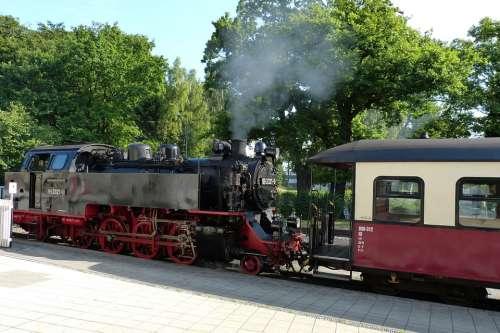 Railway Train Transport Traffic Loco