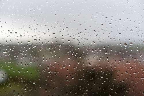 Rain Weather Thunderstorm Wet Forward Raindrop