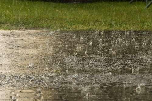 Rain Weather Raindrop Heavy Rain Storm Wet Nature