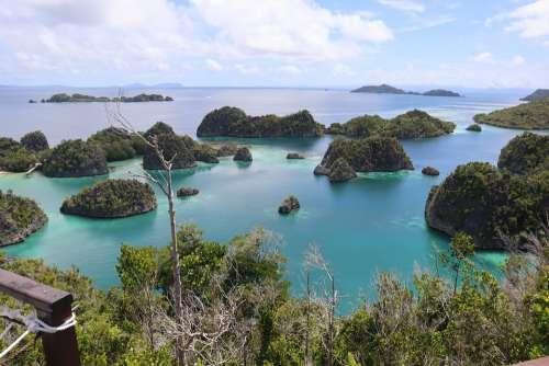 Raja Ampat Beach Wonderful Indonesia Infastpedia