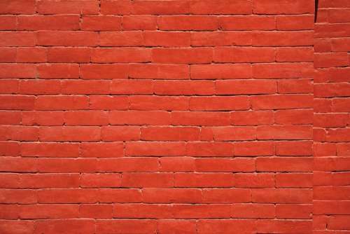 Red Brick Texture Wall Brick Wall Architecture