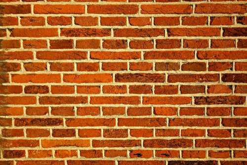 Red Brick Wall Wall Bricks Wall Of Bricks Structure