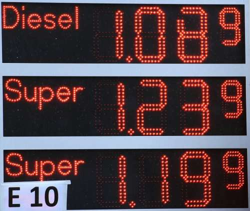 Refuel Petrol Stations Ad Oil Price Gasoline Prices